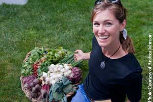 Farmgirl with NW Produce